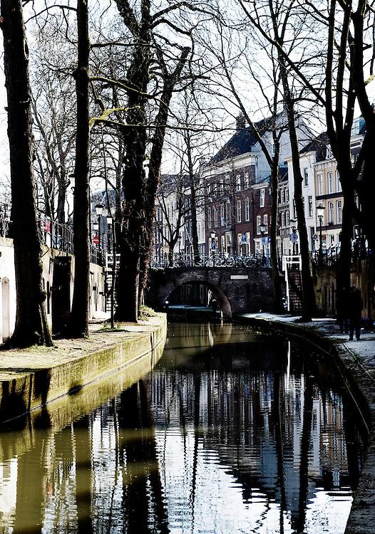 Nederland, Utrecht, 19 maart 2011.Stadsbeeld utrecht Nieuwegracht.Foto (c)  Michiel Wijnbergh