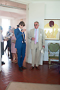 SASCHA VON BISMARCK; COUNT LEOPOLD VON BISMARCK, Glorious Goodwood. Thursday.  Sussex. 3 August 2013