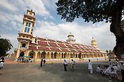 Tay Ninh, Cao Dai Great Temple (Thanh That Cao Dai).