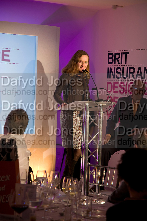 GERTRUDE THOMA, Brit Insurance Design Awards. Design Museum. London. 18 March 2008.  *** Local Caption *** -DO NOT ARCHIVE-© Copyright Photograph by Dafydd Jones. 248 Clapham Rd. London SW9 0PZ. Tel 0207 820 0771. www.dafjones.com.