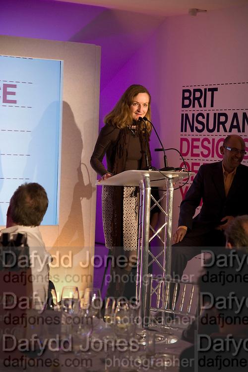 GERTRUDE THOMA, Brit Insurance Design Awards. Design Museum. London. 18 March 2008.  *** Local Caption *** -DO NOT ARCHIVE-© Copyright Photograph by Dafydd Jones. 248 Clapham Rd. London SW9 0PZ. Tel 0207 820 0771. www.dafjones.com.