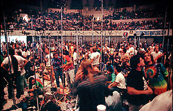 "The Taping Section, or Pit. Grateful Dead Concert at The Hampton Coliseum on 9 October 1989, ""Formerly The Warlocks"" Show. The recording made by the Band were released as a CD boxed set in 2010."