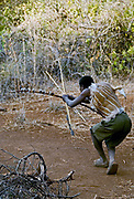Hadzabe hunter. Lake Eyasi, northern Tanzania.