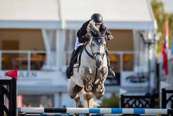 Drumond Henrique, POR, Just Blue<br /> FEI WBFSH Jumping World Breeding Championship for young horses Zangersheide Lanaken 2019<br /> © Hippo Foto - Dirk Caremans