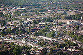 Aerial photographs and panoramas of Cheltenham Spa Town