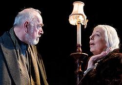 In the picture: Peter Egan, Frances de la Tour..People, by Alan Bennett, The Lyttelton Theatre, NT, London, Great Britain, November 7, 2012. Photo by Elliott Franks / i-Images.