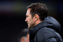 Chelsea manager Frank Lampard prior to kick off - Mandatory by-line: Ryan Hiscott/JMP - 10/12/2019 - FOOTBALL - Stamford Bridge - London, England - Chelsea v Lille - UEFA Champions League group stage