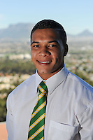 CAPE TOWN, SOUTH AFRICA - Thursday 25 April 2013, Cheslyn Kolby during the official team announcement at SARU House, of the Springbok u/20 rugby team to represent South Africa in the IRB Junior World Championship (JWC) in France during the month of June. .Photo by Roger Sedres/ImageSA