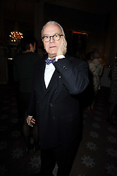 MANOLO BLAHNIK at a party to celebrate Penguin's reissue of Nancy Mitford's 'Wigs on The Green' hosted by Tatler at Claridge's, Brook Street, London on 10th March 2010.