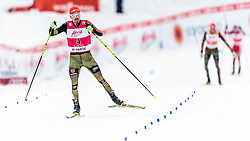 21.02.2016, Salpausselkae Stadion, Lahti, FIN, FIS Weltcup Nordische Kombination, Lahti, Langlauf, im Bild Fabian Riessle (GER) // Fabian Riessle of Germany competes during Cross Country Gundersen Race of FIS Nordic Combined World Cup, Lahti Ski Games at the Salpausselkae Stadium in Lahti, Finland on 2016/02/21. EXPA Pictures © 2016, PhotoCredit: EXPA/ JFK