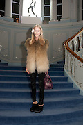 MARY CHARTERIS, Glenda Bailey's Bazaar Greatest Hits book party. Savile Club. Brook St. London. 18 September 2011. <br /> <br />  , -DO NOT ARCHIVE-© Copyright Photograph by Dafydd Jones. 248 Clapham Rd. London SW9 0PZ. Tel 0207 820 0771. www.dafjones.com.