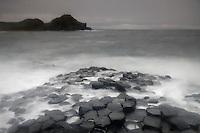 Northern Ireland Giant's Causeway basalt landscape Unesco Heritage Site