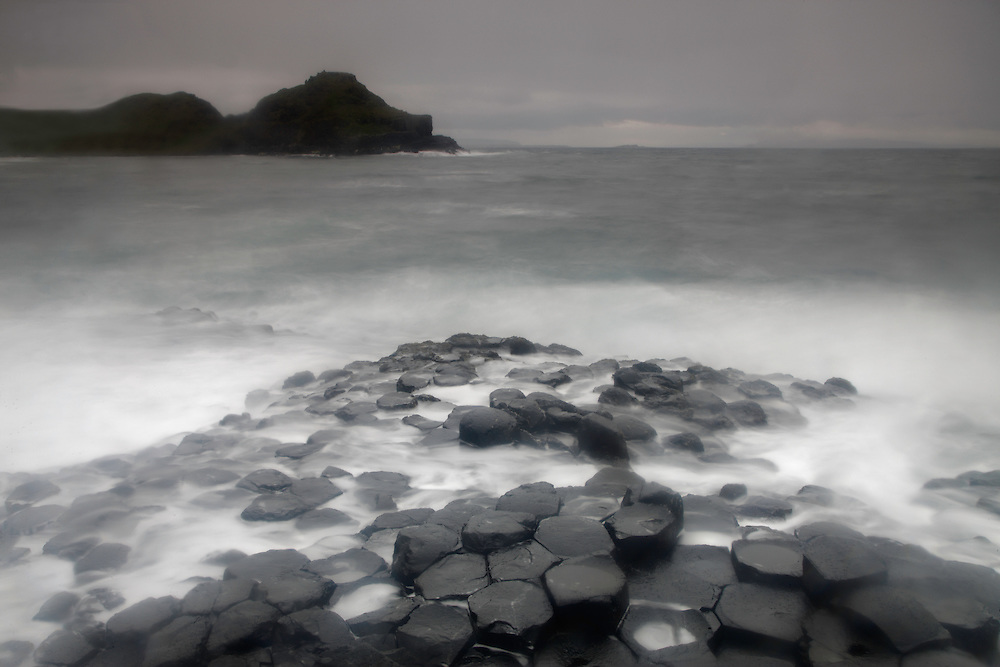 Northern Ireland Giant's Causeway basalt landscape Unesco Heritage Site