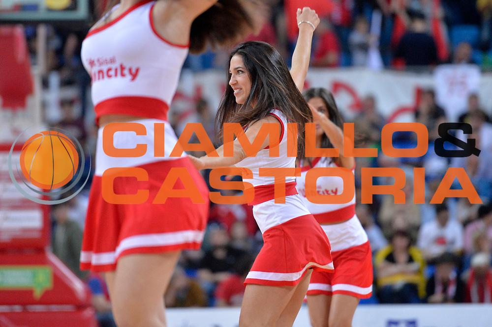 cheerleader<br /> Consultinvest Victoria Libertas Pesaro - EA7 Emporio Armani Olimpia MIlano<br /> Lega Basket Serie A 2016/2017<br /> Pesaro, 30/04/2017<br /> Foto M.Ceretti / Ciamillo - Castoria