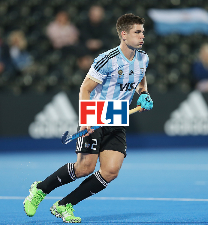 LONDON, ENGLAND - JUNE 16:  Gonzalo Peillat of Argentina during the Hero Hockey World League semi final match between Argentina and Malaysia at Lee Valley Hockey and Tennis Centre on June 16, 2017 in London, England.  (Photo by Alex Morton/Getty Images)