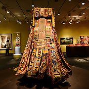 Smithsonian National Museum of African Art Dress. The Smithsonian National Museum of African Art was opened at its current location in 1987 as a mostly underground facility behind the Smithsonian Castle on Washington DC's National Mall. It is dedicated to ancient and contemporary African art.