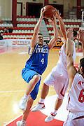 DESCRIZIONE : Teramo Giochi del Mediterraneo 2009 Mediterranean Games Italia Turchia Italy Turkey Preliminary Men<br /> GIOCATORE : Federico Bolzonella<br /> SQUADRA : Nazionale Italiana Maschile<br /> EVENTO : Teramo Giochi del Mediterraneo 2009<br /> GARA : Italia Turchia Italy Turkey<br /> DATA : 30/06/2009<br /> CATEGORIA : tiro<br /> SPORT : Pallacanestro<br /> AUTORE : Agenzia Ciamillo-Castoria/G.Ciamillo