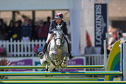 Leprevost Penelope (FRA) - Dame Blance van Arenberg <br /> Furusiyya FEI Nations Cup presented by Longines<br /> Longines Jumping International La Baule 2014<br /> © Hippo Foto - Dirk Caremans