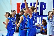 DESCRIZIONE : Gospic Croazia Qualificazioni Europei 2011 Croazia Italia<br /> GIOCATORE : Jennifer Nadalin Kathrin Ress<br /> SQUADRA : Nazionale Italia Donne<br /> EVENTO : Qualificazioni Europei 2011<br /> GARA : Croazia Italia<br /> DATA : 17/08/2010 <br /> CATEGORIA : Esultanza<br /> SPORT : Pallacanestro <br /> AUTORE : Agenzia Ciamillo-Castoria/M.Gregolin<br /> Galleria : Fip Nazionali 2010 <br /> Fotonotizia : Gospic Croazia Qualificazioni Europei 2011 Croazia Italia<br /> Predefinita :