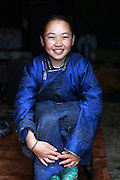 Stunning images reindeer herders of Mongolia<br /> <br /> Tsaatan people are reindeer herders and live in northern Khövsgöl Aimag of Mongolia. Originally from across the border in what is now Tuva Republic of Russia,the Tsaatan are one of the last groups of nomadic reindeer herders in the world. They survived for thousands of years inhabiting the remotest Ulaan taïga, moving between 5 and 10 times a year. <br /> The reindeer and the Tsaatan people are dependent on one another. Some Tsaatan say that if the reindeer disappear, so too will their culture. The Tsaatan depend on the reindeer for almost, if not all, of their basic needs:  their reindeers provide them with milk, cheese, meat, and transportation. They sew their clothes with reindeer hair, reindeer dung fuels their stoves and antlers are used to make tools. They do not use their animals for meat. This makes their group unique among reindeer-herding communities. As the reindeer populations shrink, only about 40 families continue the tradition today. Their existence is threatened by the dwindling number of their domesticated reindeer. Many have swapped their nomadic life for urban areas. <br /> <br /> Ulziisaihan and Ulziitsetseg, daughters of Narahuu & Bolorma<br /> ©Pascal MANNAERTS/Exclusivepix Media