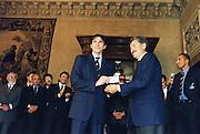 Incontro con D'Alema 1999<br /> davide bonora