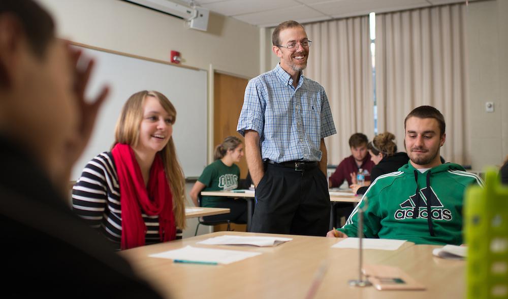 Charlie Morgan, Assistant Professor of Sociology. ©Ohio University / Photo by Ben Siegel