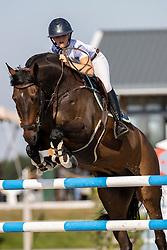 Thijssen Sanne, NED, Carado 3<br /> Nederlands Kampioenschap Springen<br /> De Peelbergen - Kronenberg 2020<br /> © Hippo Foto - Dirk Caremans<br />  06/08/2020
