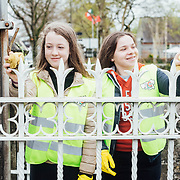 14.04.2017<br /> Europe&rsquo;s biggest ever one-day clean-up took place in Limerick today, Friday 14 April. Over 16,500 people took to the streets of Limerick city and county to take part in the occasion.<br /> Pictured taking part in the Team Limerick Clean-Up in Adare were, Lucy Coyle and Sarah O Farrelly.<br /> Pic. Brian Arthur/ Alan Place