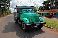 Truck in San Miguel de los Banos, Matanzas, Cuba.