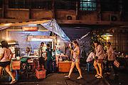 (Pad Khee Mao) Drunken noodles at Krua Pornlamai