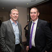 10.10. 2017.          <br /> Pictured at the Limerick Going for Gold 2017 finals in the Strand Hotel were, Robert McKillican, Stryker Ireland and Dave Hennessy, Limerick City and County Council.<br /> <br /> <br /> Limerick Going for Gold, which is sponsored by the JP McManus Charitable Foundation, has a total prize pool of over €75,000.  It is organised by Limerick City and County Council and supported by Limerick's Live 95FM, The Limerick Leader and The Limerick Chronicle, The Limerick Post, Parkway Shopping Centre, I Love Limerick and Southern Marketing Media & Design. Picture: Alan Place