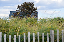 A Late Afternoon in October at Hammonasset Beach State Park, Connecticut. West Beach area.