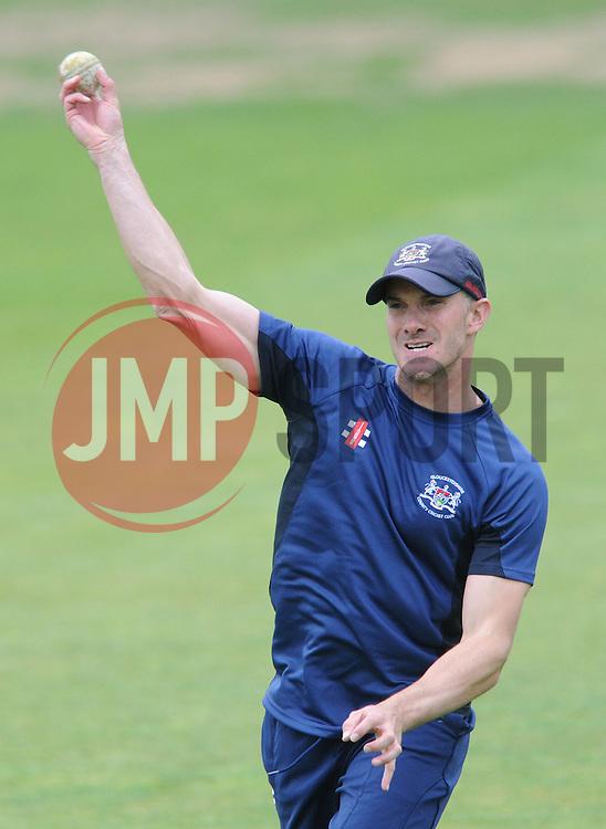 Michael Klinger of Gloucestershire - Photo mandatory by-line: Dougie Allward/JMP - Mobile: 07966 386802 - 12/06/2015 - SPORT - Cricket - Bristol - County Ground - Gloucestershire v Glamorgan - Natwest T20 Blast