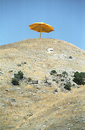 Christo's Yellow Umbrellas California 1991