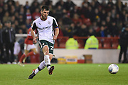 Barnsley's Gary Gardner (22) during the EFL Sky Bet Championship match between Nottingham Forest and Barnsley at the City Ground, Nottingham, England on 24 April 2018. Picture by Jon Hobley.