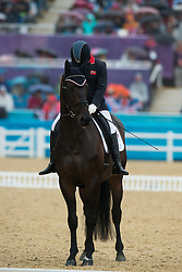 Baker Natasha (GBR) - Cabral<br /> Team Test - Grade II - Dressage <br /> London 2012 Paralympic Games<br /> © Hippo Foto - Jon Stroud