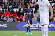 Edinson Roberto Paulo Cavani Gomez (psg) (El Matador) (El Botija) (Florestan) ready to score, Syam BEN YOUSSEF (SM Caen) during the French Championship Ligue 1 football match between Paris Saint-Germain and SM Caen on May 20, 2017 at Parc des Princes stadium in Paris, France - Photo Stephane Allaman / ProSportsImages / DPPI