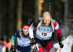 MESOTITSCH Daniel (AUT) competes during Men 10 km Sprint at day 2 of IBU Biathlon World Cup 2014/2015 Pokljuka, on December 19, 2014 in Rudno polje, Pokljuka, Slovenia. Photo by Vid Ponikvar / Sportida
