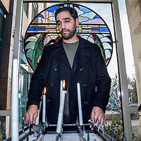 Nederland, Amsterdam, 3 december 2016.<br />Abbie Chalgoum is een Nederlander van Marokkaanse afkomst. Hij speelt Jezus tijdens de Passiespelen in Tegelen<br /><br /><br /><br />Foto: Jean-Pierre Jans