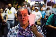 Grupos avenís pertenecientes a la arquidiosis de San Salvador, comunidades religiosas marchan Saturday March 23, 2019 en San Salvador, El Savador para conmemorar el treinta y nueve aniversario del asesinato de Monseñor Oscar Arnulfo Romero. El asesinato de Romero es uno de los casos que sus actores materiales e intelectuales no fueron juzgados por la ley de amnistía, actualmente la Asamblea legislativa busca una nueva ley después de que la corte suprema de justicia dejara nula. Photo: Edgar ROMERO/Imagenes Libres.