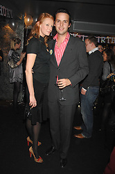 OLIVIA INGE and CHARLIE GILKES at a party to celebrate the 1st birthday of nightclub Kitts, 7-12 Sloane Square, London on 5th March 2008.<br /><br />NON EXCLUSIVE - WORLD RIGHTS