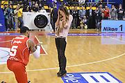 BIELLA 16 DICEMBRE 2012<br /> BASKET ALL STAR GAME<br /> NAZIONALE ITALIANA - ALL STAR<br /> NELLA FOTO JAMES<br /> FOTO CIAMILLO