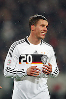Fussball           EM Qualifikation        17.11.07 Deutschland - Zypern Lukas PODOLSKI (GER), erschoepft