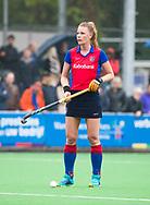 BILTHOVEN  - Hockey -  1e wedstrijd Play Offs dames. SCHC-Den Bosch (0-1). Caia van Maasaker (SCHC) .   COPYRIGHT KOEN SUYK