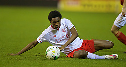 NOTTINGHAM, ENGLAND - Thursday, February 4, 2016: Liverpool's Ovie Ejaria in action against Nottingham Forest during the FA Youth Cup 5th Round match at the City Ground. (Pic by David Rawcliffe/Propaganda)