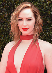 Jacqueline MacInnes Wood at the 45th Annual Daytime Emmy Awars at the Pasadena Civic Auditorium on April 29, 2018 in Pasadena, California. 29 Apr 2018 Pictured: Camryn Grimes. Photo credit: Scott Kirkland/PictureGroup / MEGA TheMegaAgency.com +1 888 505 6342