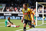 GOTHENBURG, SWEDEN - APRIL 22: Paulinho of BK Hacken celebrates after scoring to 1-0 during the Allsvenskan match between BK Hacken and Hammarby IF at Bravida Arena on April 22, 2018 in Gothenburg, Sweden. Photo by Nils Petter Nilsson/Ombrello ***BETALBILD***