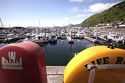 USA ALASKA KODIAK 27JUN12 - Fishing boats in Kodiak harbour, Alaska.....Photo by Jiri Rezac / Greenpeace