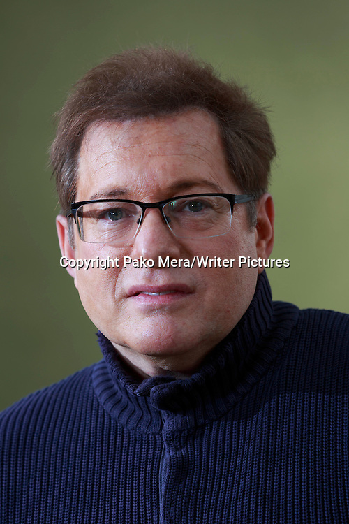 Craig Pomranz at Edinburgh International Book Festival 2014. <br /> 15th August 2014<br /> <br /> Picture by Pako Mera/Writer Pictures
