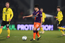 January 23, 2019 - Burton-Upon-Trent, Staffordshire, United Kingdom - Manchester City defender Eric Garcia (50) during the Carabao Cup match between Burton Albion and Manchester City at the Pirelli Stadium, Burton upon Trent on Wednesday 23rd January 2019. (Credit: MI News & Sport) (Credit Image: © Mark Fletcher/NurPhoto via ZUMA Press)